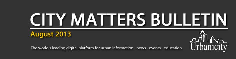 City Matters - from Urbanicity