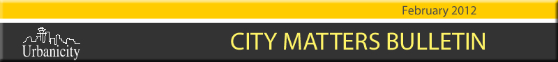 City Matters Bulletin from Urbanicity