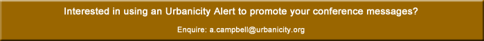 Alerts are fast, effective and cost efficient - book one today: a.campbell@urbanicity.org